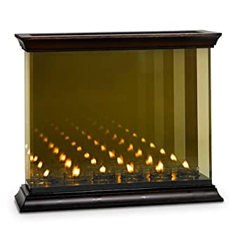 Amazon.com: Partylite Infinite Reflections Candle Holder: Home ...
