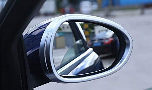 2 pezzi Cornice per specchietto retrovisore laterale in ABS cromato per accessori auto Giulia YIWANG