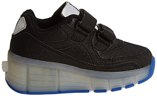 BEPPI Casual 2151331, Zapatillas de Deporte para Niñas Negro (Black)