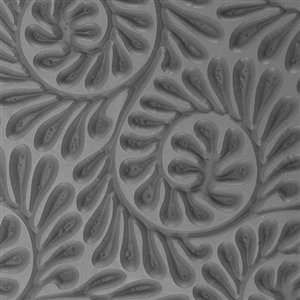 Cool Tools - Flexible Texture Tile - Fiddlehead Fern Embossed - 4