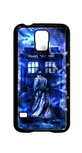 Hipster Custom Doctor Who Case For Samsung Galaxy S5 Case Cover Hard Shell Tardis Black Case - AArt (DH501)