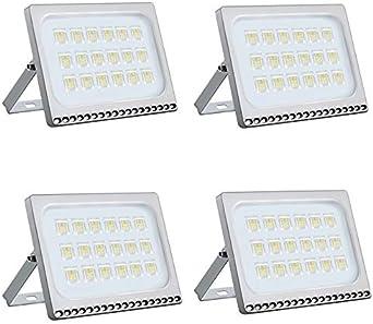 Foco LED 100W, Reflector Foco Proyector LED para Exteriores ...