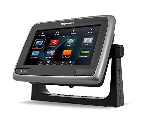 (Raymarine a78 Multifunction Display with Downvision, Wi-Fi & CPT-100DVS Transom Mount Transducer, 7