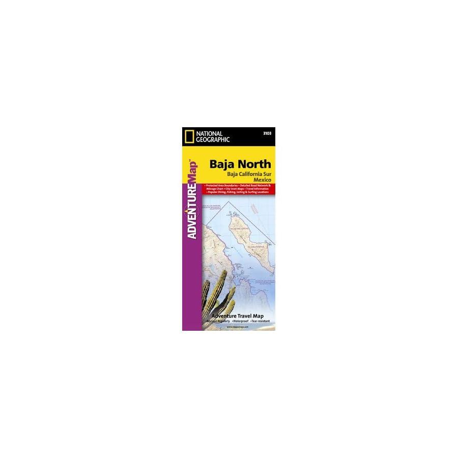 Baja California North, Mexico Map
