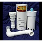 """Aquaponics Fail Safe Auto Bell Siphon Kit For IBC 8"""" Media *Easily Adjustable* Over 7000 Siphons Sold Worldwide So Buy With Confidence!"""