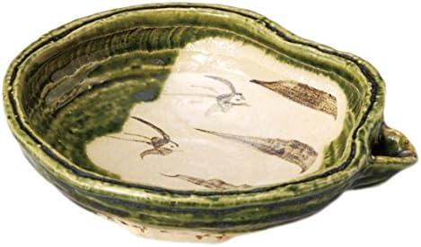 織部片口6.5浅鉢 【17.5×16×5.2㎝】 日本製 3616243