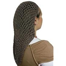 Extra Long Hair Net Snood - Dark Brown