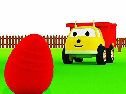 La búsqueda de huevos: Aprender los colores con Ethan el Camión Volquete