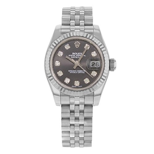 Rolex Datejust 26mm 179174 18K White Gold & Steel Automatic Ladies Watch 2007 (Certified Pre-owned)