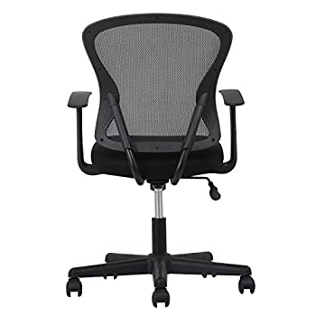 Essentials Swivel Mesh Task Chair With Arms - Ergonomic Computeroffice Chair (Ess-3011) 3