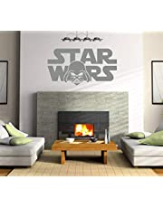 Star Wars, Movie Wall Decals for Living Room, Beautiful Home Decor, Waterproof Wall Stickers