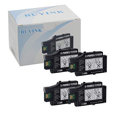 - Buyink Remanufactured T2950 Ink Tank Maintenance Box Compatible For Workforce WF-100 WF-100W Inkjet Printer 4 Pack