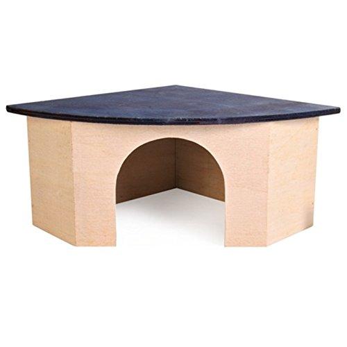 Trixie 61224 - Casa de esquina para conejo (52 x 18 x 37 cm)
