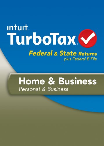 TurboTax Home and Business Fed + Efile + State 2013 OLD VERSION