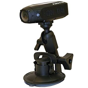 Panavise 13150 ActionGrip 3-in-1 Suction Cup Camera Mount Kit Matte Black