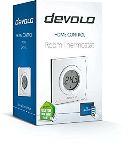 Devolo Home Control Room Thermostat (Home Automation via iOS/Android App, Smart Home