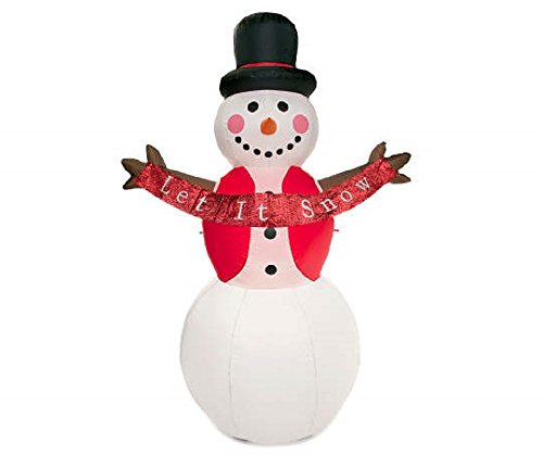 Outdoor Led Lighted Snowman - 7