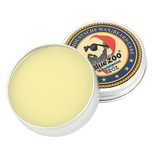 Jili Online Men Beard Balm Leave-In Taming Styling Conditioner Moustache Wax Sandalwood ()