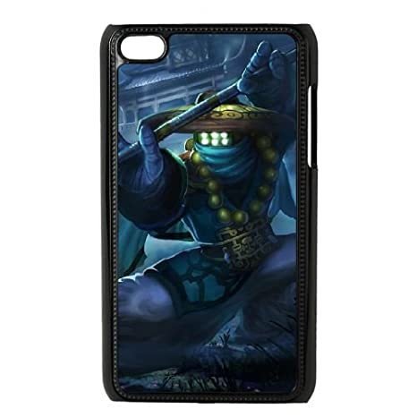 Ipod Touch 4 Case Black League Of Legends Temple Jax Ju9737204