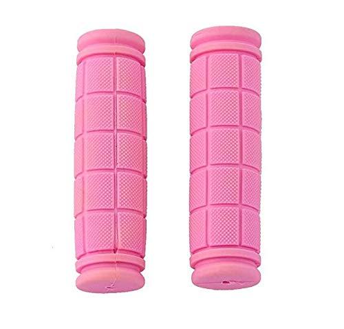Upper Cubierta Suave De Goma del Manillar De Agarre Antideslizante para Fixie MTB Bicicleta De Color Rosa