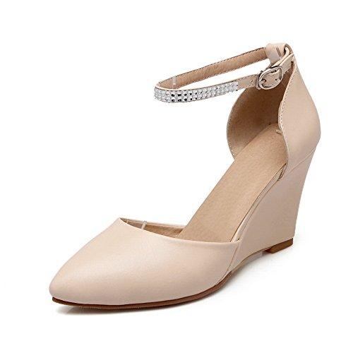 1TO9 - Sandalias de vestir para mujer Beige