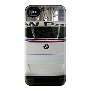 Faddish Phone Bmw Z4 M Coupe Racing Rear Case For Iphone 4/4s / Perfect Case Cover