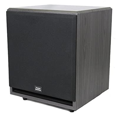 Theater Solutions SUB6F Front Firing Powered Subwoofer (Black) from Theater Solutions