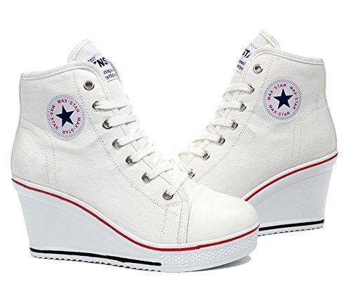 Padgene Donna Padgene bianco Sneaker Sneaker Bianco 61nwZxq5z0