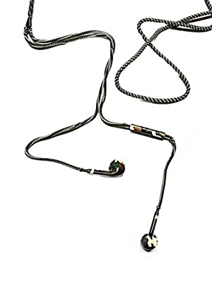 RAPT Camo Tangle Free, Premium Earbud Headphones in Kevlar