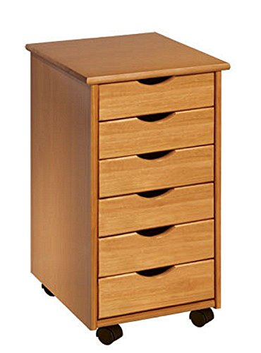 adeptus-6-drawer-roll-cart-medium-pine