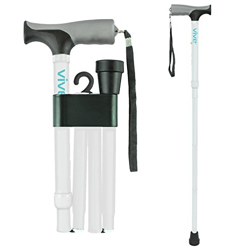 Folding Cane Vive Collapsible Lightweight