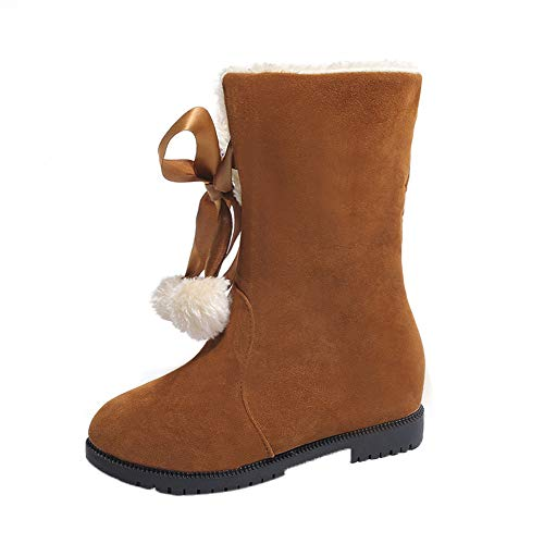 Bottines pour Femmes Neige De Boots Madam Mode d'hiver Femme Bottes Hairball Yesmile Bottes pour Bottes Femme Bottines Chaussures zXw6fqrvzI