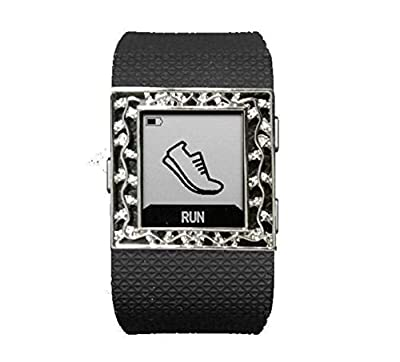 Fitness Band Bling charm jewelry Accessory for fitbit surge fitness superwatch wristband (ONLY bling accessory, NO TRACKERS, no wristband)