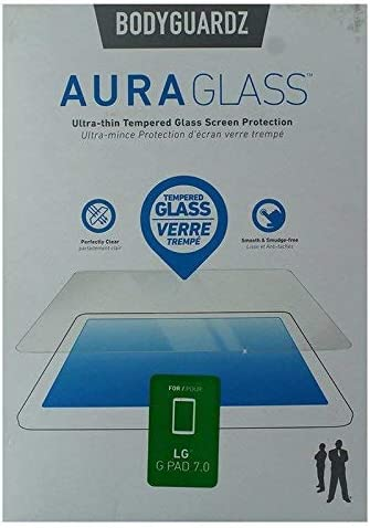 BodyGuardz Aura Glass Tempered Glass Screen Protector for LG G Pad 7.0