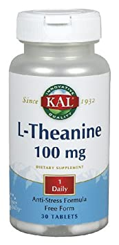 KAL – L-Theanine, 30 tablets