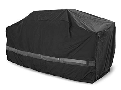 Covermates - Island Grill Cover - 86W x 44D x 48H - Classic Collection - 2 YR Warranty - Year Around Protection - Black