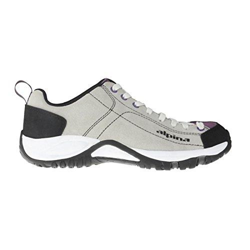 Alpina Chaussures De Plein Air Pour Les Dames, Confortables, Sports Et Loisirs Gris