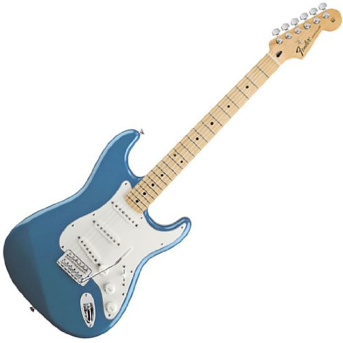 Fender Stratocaster Blue (Fender Standard Stratocaster Electric Guitar - Maple Fingerboard, Lake Placid Blue)