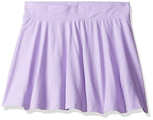 Cotton Skort Girl - The Children's Place Girls' Big Solid Skirt, Noble Violet, L (10/12)