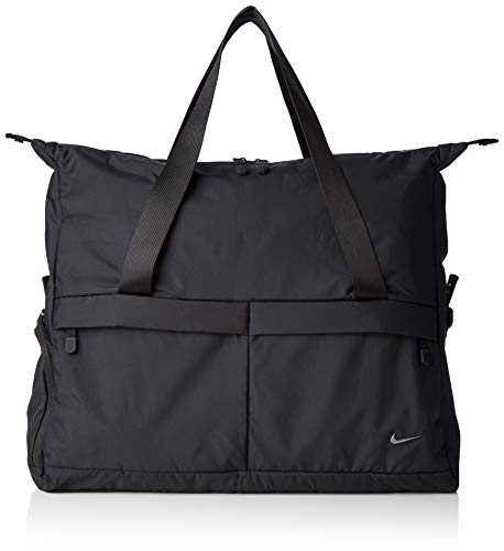 Nike W Nk Legend Club-Solid Gym Duffel Bag, Mujer, Black/Black/Black, MISC