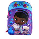 Doc Mcstuffins Blue and Pink 16 inch Backpack