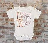 Some Bunny Loves Me Onesie®, Funny Onesie, Cute Onesie, Bunny Puns Onesie, Cute Baby Bodysuit, Boho Baby Onesie, Girl Onesie