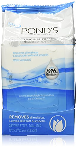 Pond's Wet Cleansing Towelettes, Original Fresh 30 ct