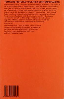 España, el ocaso de un parlamento, 1921-1923 Temas de historia y pol¸tica contemporánea: Amazon.es: Comalada, Ángel: Libros