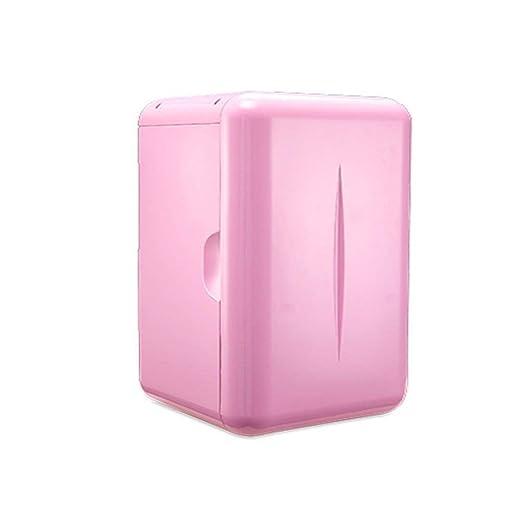 FQY-BX Mini Nevera Mini refrigerador con congelador portátil, Mini ...