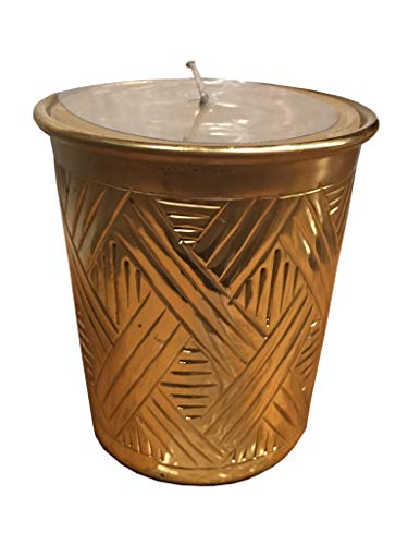 Porta Velas Xadrez Em Sarquis Samara Gold
