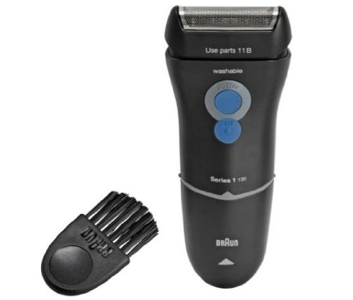 Ergonomic Design Braun Series 1-130 Electric Shaver That Give You an Efficient Shave rubiesofuk