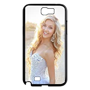 Celebrities Cassidy Wolf Samsung Galaxy N2 7100 Cell Phone Case Black Protect your phone BVS_621728