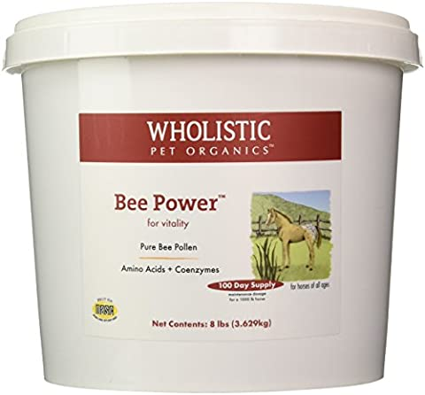 Wholistic Pet Organics Bee Power Supplement, 8 lb (Holistic Granules)