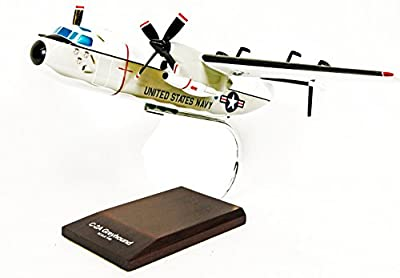 Mastercraft Collection Grumman C-2A Greyhound Twin Engine Cargo Aircraft Carrier Onboard Delivery USN Navy Airplane Plane Model Scale:1/48